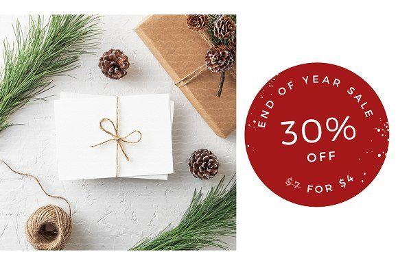 Sale christmas greeting card mockup by lena zakharova christmas greeting card mockup by lena zakharova layer3mockups logo mockup m4hsunfo