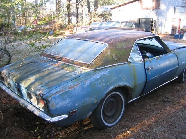 Classic Cars Rotting Classic Car Camaro For Sale What A