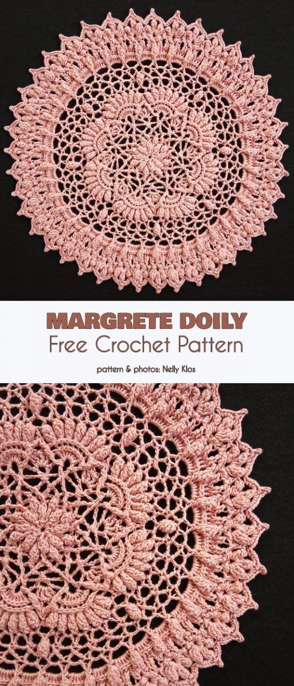 Margrete Doily Free Crochet Pattern