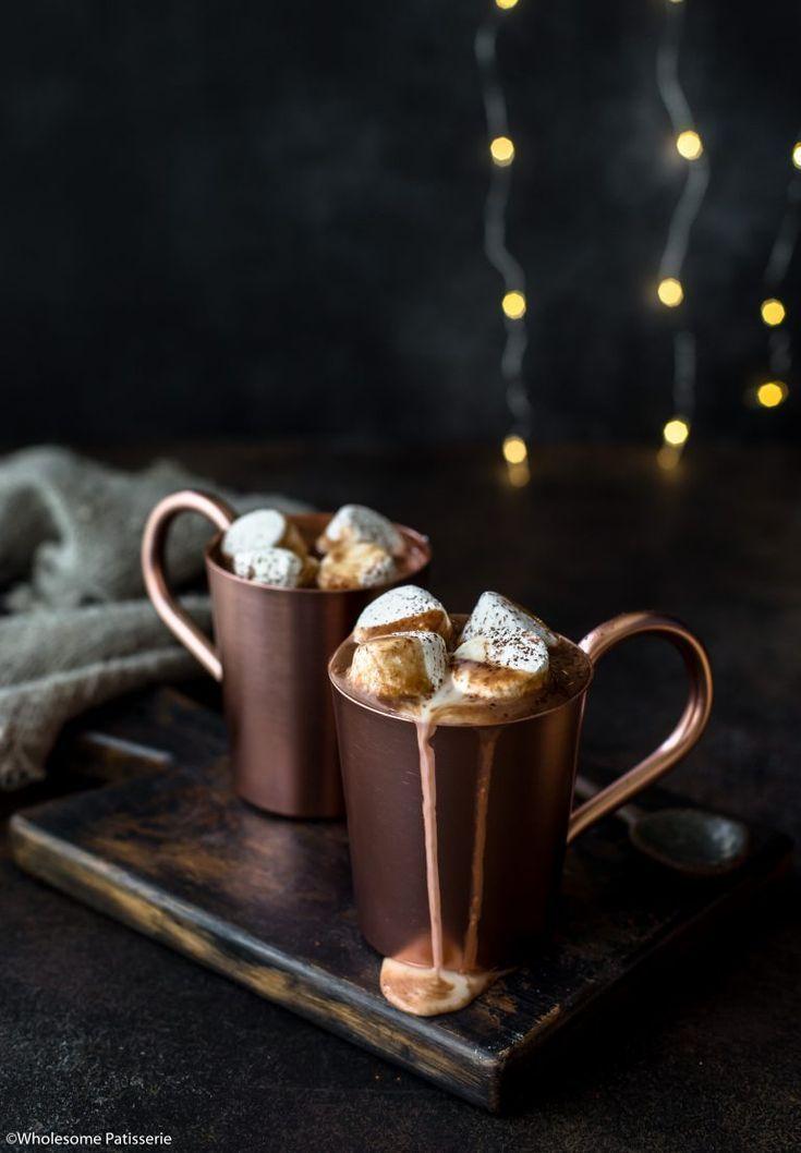Hot Chocolate Nightcap #hotchocolaterecipe