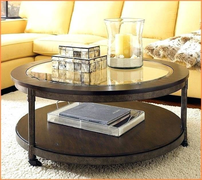 Round Glass Coffee Table Decorating Ideas | Round glass ...