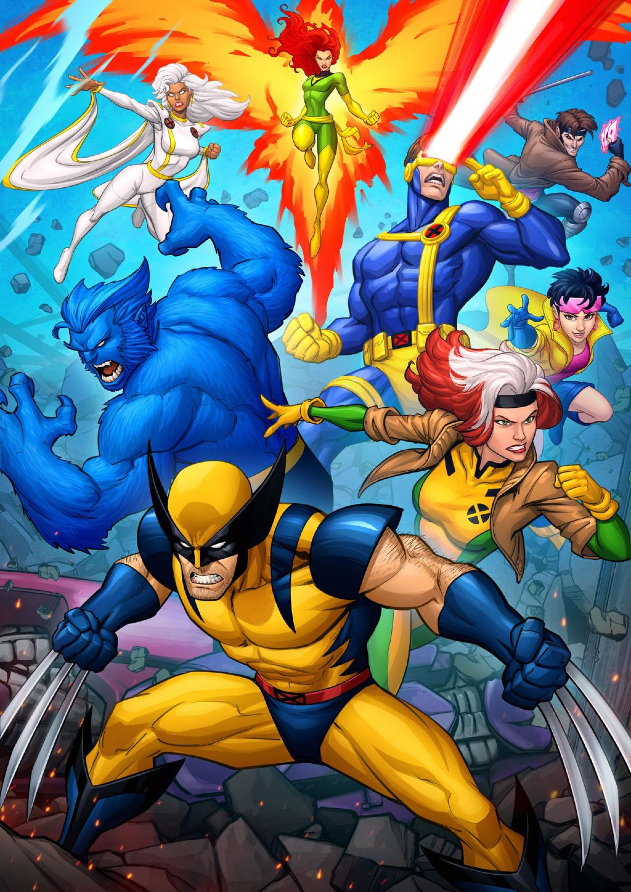 X Men 90s Animated Series By Patrickbrown On Deviantart Wolverine Art Wolverine Marvel Marvel Comics Art