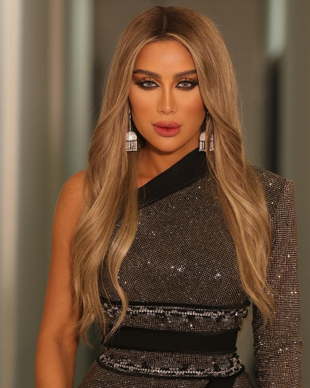 Maya Diab On Instagram Back To Longhair Second Look Form Celebrityduetstv Tonight Are You Watching Ni Long Hair Styles Hair Styles Celebrity Style