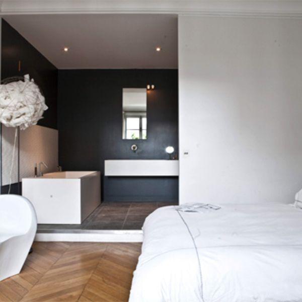 Le luxe d\'une salle de bains spacieuse | Appart Béa & Éric ...