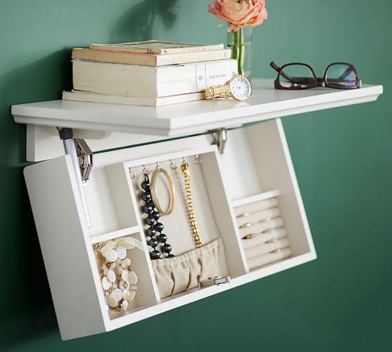 Concealed Jewelry Storage Shelf Jewellery Storage Storage Shelves Jewerly Storage