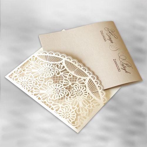 Lézervágott meghívó 1207 - Lézervágott esküvői meghívó - Esküvői meghívók - Webáruház - Esküvői meghívó készítés