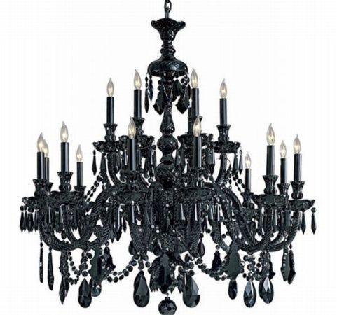 Renew vintage black chandelier how to renew and clean your old renew vintage black chandelier mozeypictures Gallery