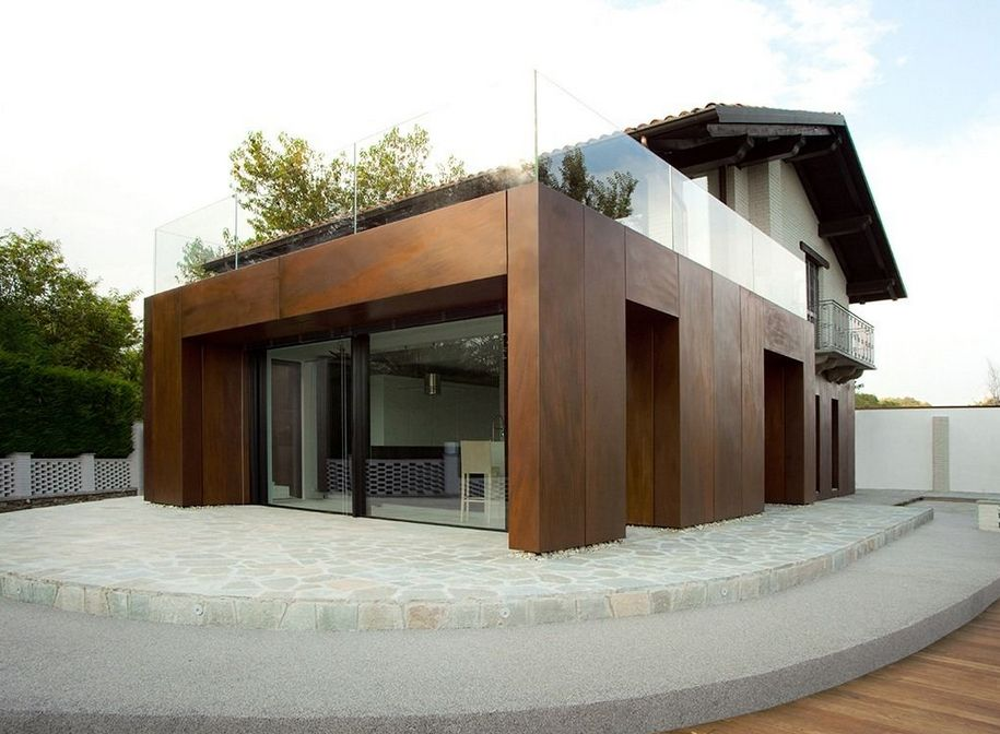 Rnovation Et Agrandissement DUne Maison Traditionnelle Pour Sa