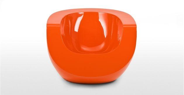 Moon Orange Fiberglas Stuhl von Mike To   Möbel   Pinterest   Stühle ...