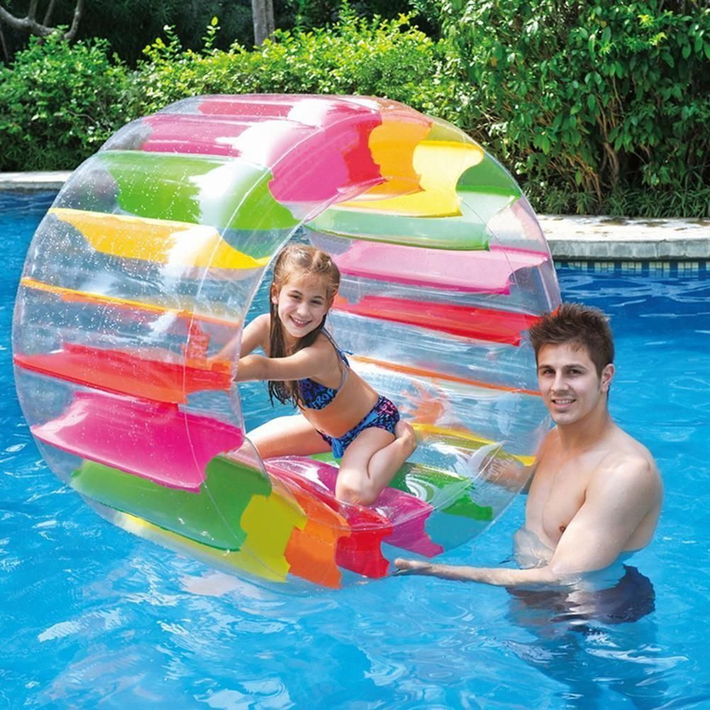 Childrens #Inflatable #toys Cool #Water #Wheel | Inflatable pool toys, Cool  pool floats, Swimming pool water