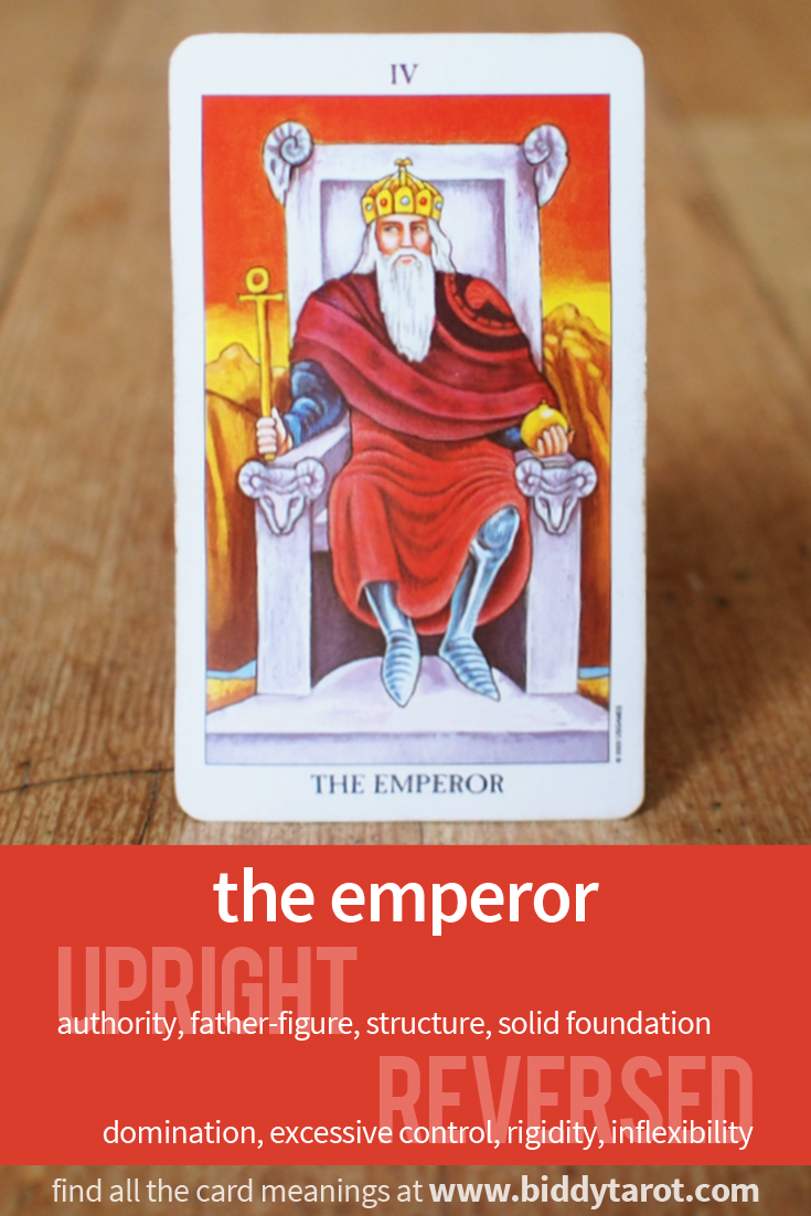 """More Tarot Tuesday The Occult Detective The High: Major Arcana Card """"The Emperor"""" #tarotcardmeaning Learn"""
