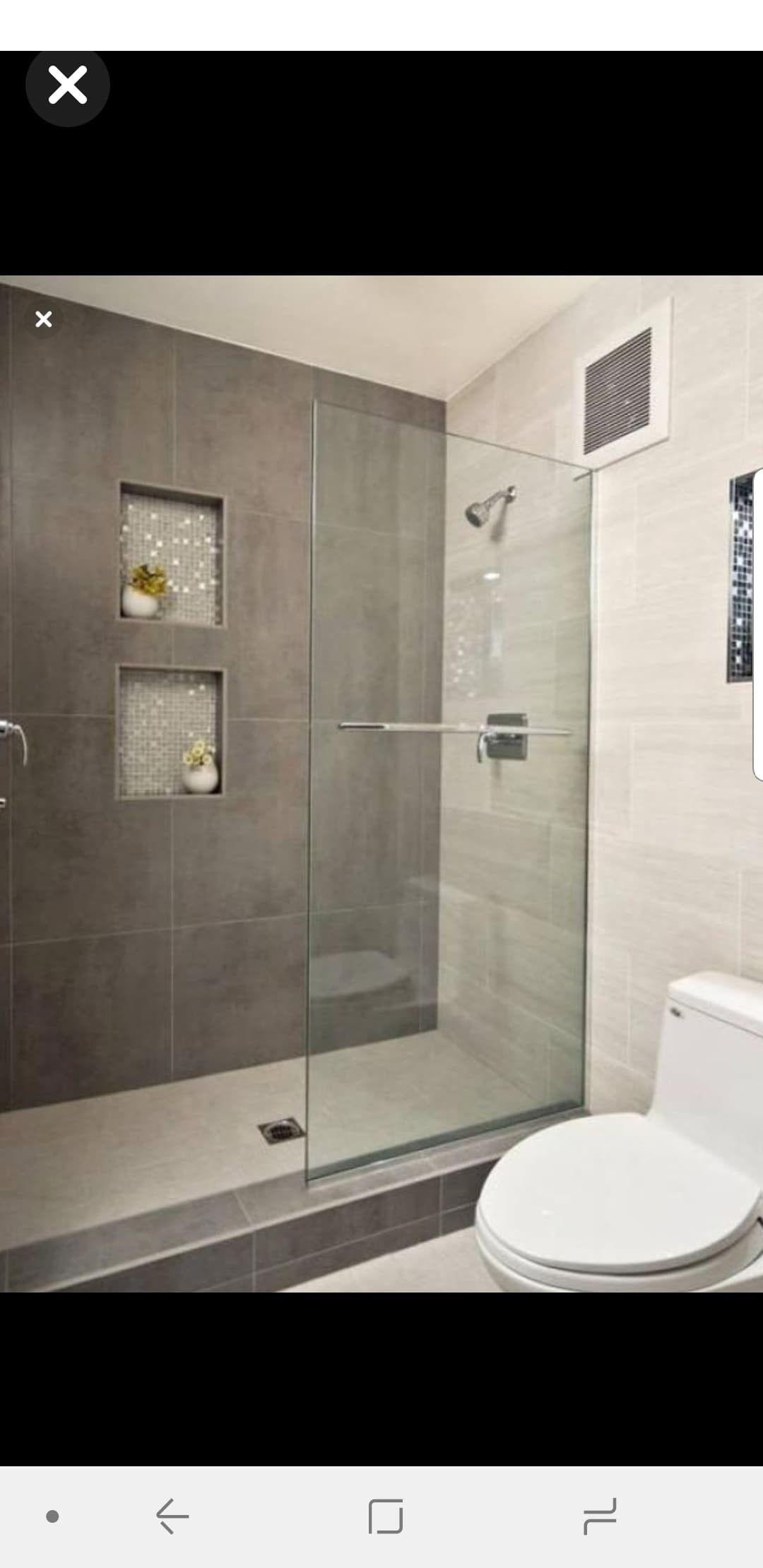 Shower Remodel Remodel Bathroom Modern Small Bathrooms Small Bathroom Designs Modern Bathroom