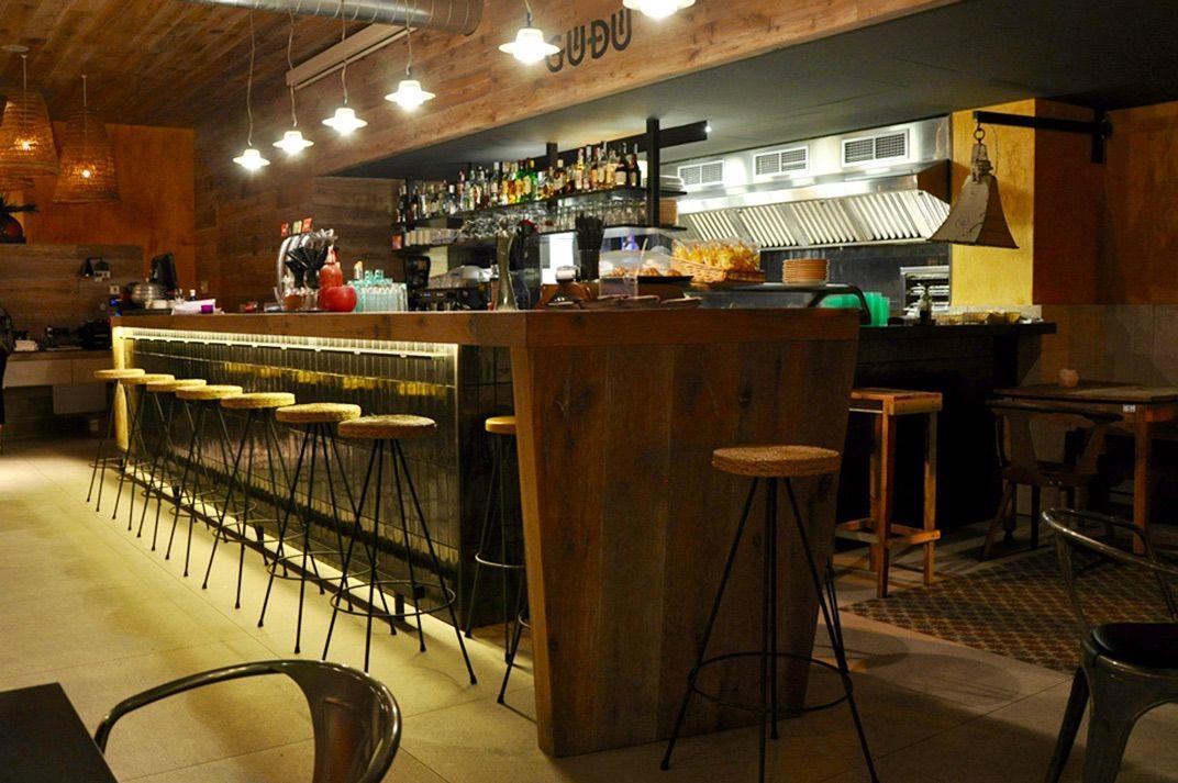 Barra Restaurante Dise O Gud L 39 Escala Interior