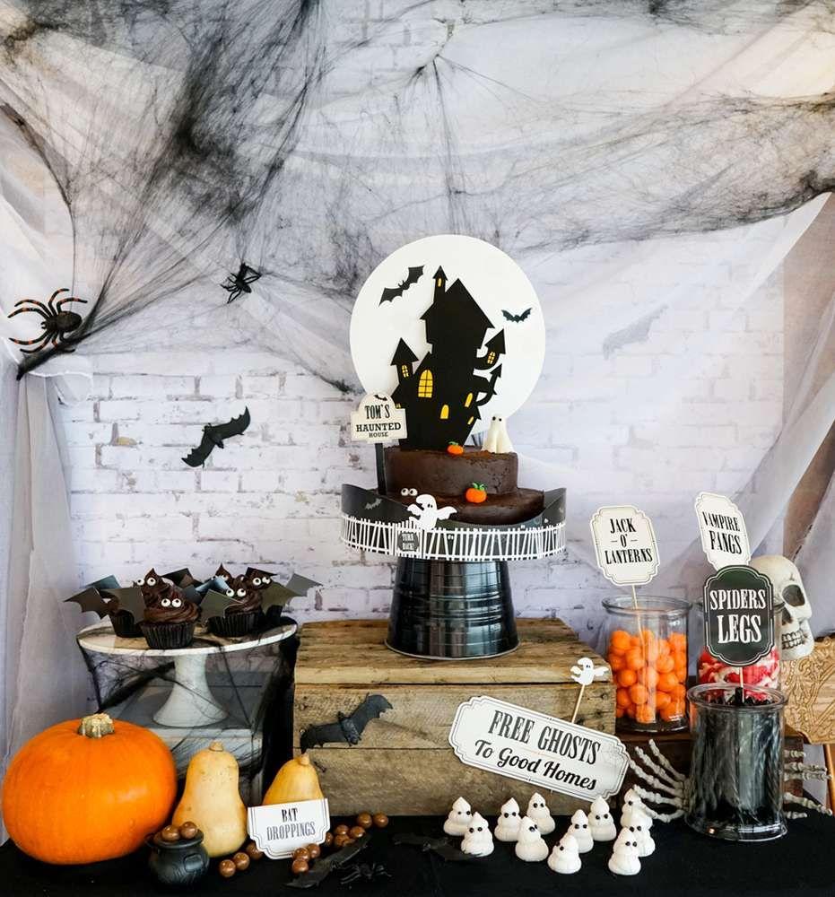 Halloween Haunted House Halloween Party Ideas  Photo 26 of 263