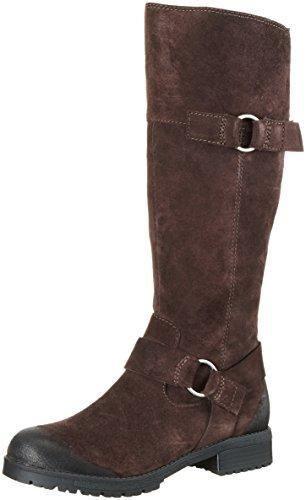 Oferta: 150€ Dto: -6%. Comprar Ofertas de Clarks 261215924 - Botas altas para mujer, color Marrón (Dark Brown Suede), talla 38 EU barato. ¡Mira las ofertas!