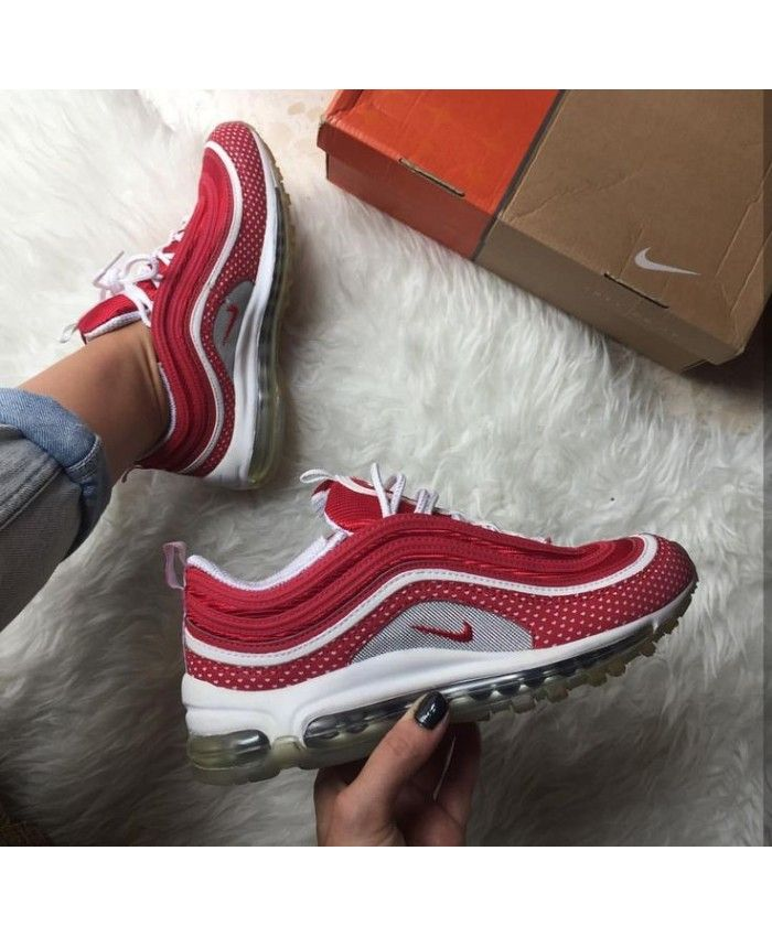 Nike Air Max 97 Red White Womens
