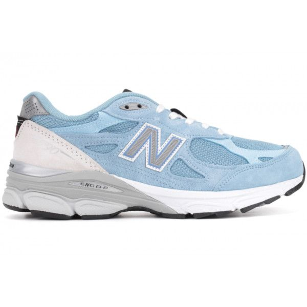 premium selection 16213 959ef new balance 990 sky blue - Google-søgning ❤ liked on Polyvore featuring  shoes and sneakers