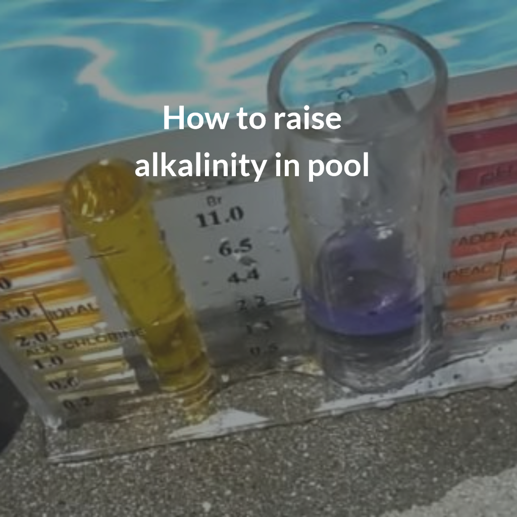 How To Raise Alkalinity In Pool Swimming Pools Swimming Pool