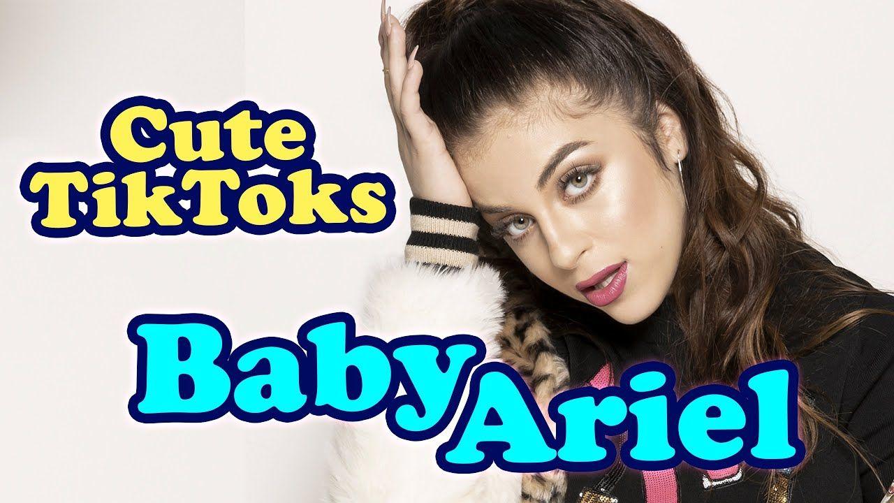 Cute Baby Ariel Tiktok Compilation Part 2 Baby Ariel Cute Babies Cute