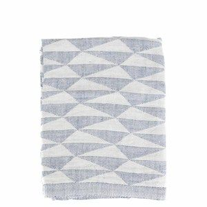 Scandinavian Dish Towel - Faded Blue