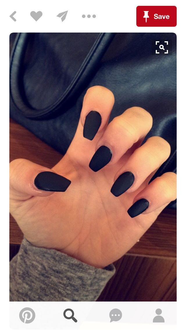 Pin de Nadia Smith en Nails   Pinterest   Diseños de uñas, Negro ...