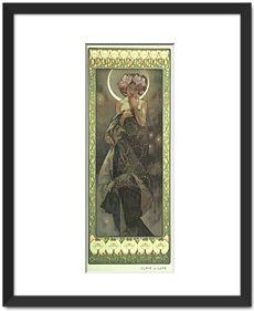 Moon by Alphonse Mucha - Fine Art Prints - $85.00