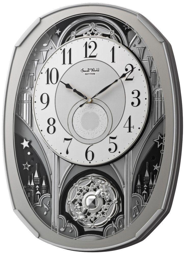Rhythm Clocks Amazing Gala, Model 4MH878WU19 * Amazing deals just a click away : Home Decor Clocks