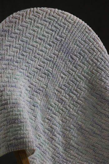0873ba8e6e1 Free Knitting Pattern - Afghans   Blankets  Rib   Welt Baby Blanket ...