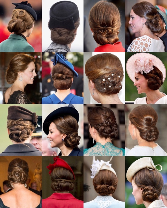 Favourite Photos of Royal Hair Updos.