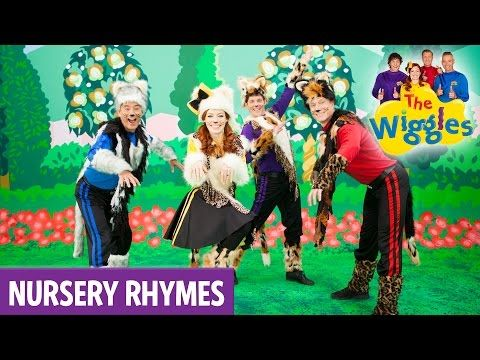 The Wiggles Nursery Rhymes Three Little Kittens Youtube With Images Cute Kitten Gif Nursery Rhymes Little Kittens
