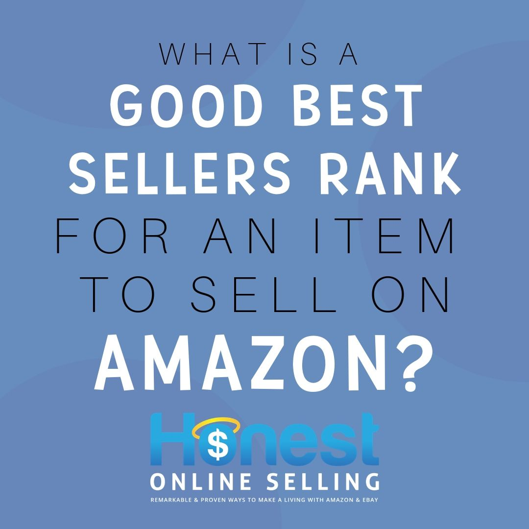 what is a good amazon sales rank