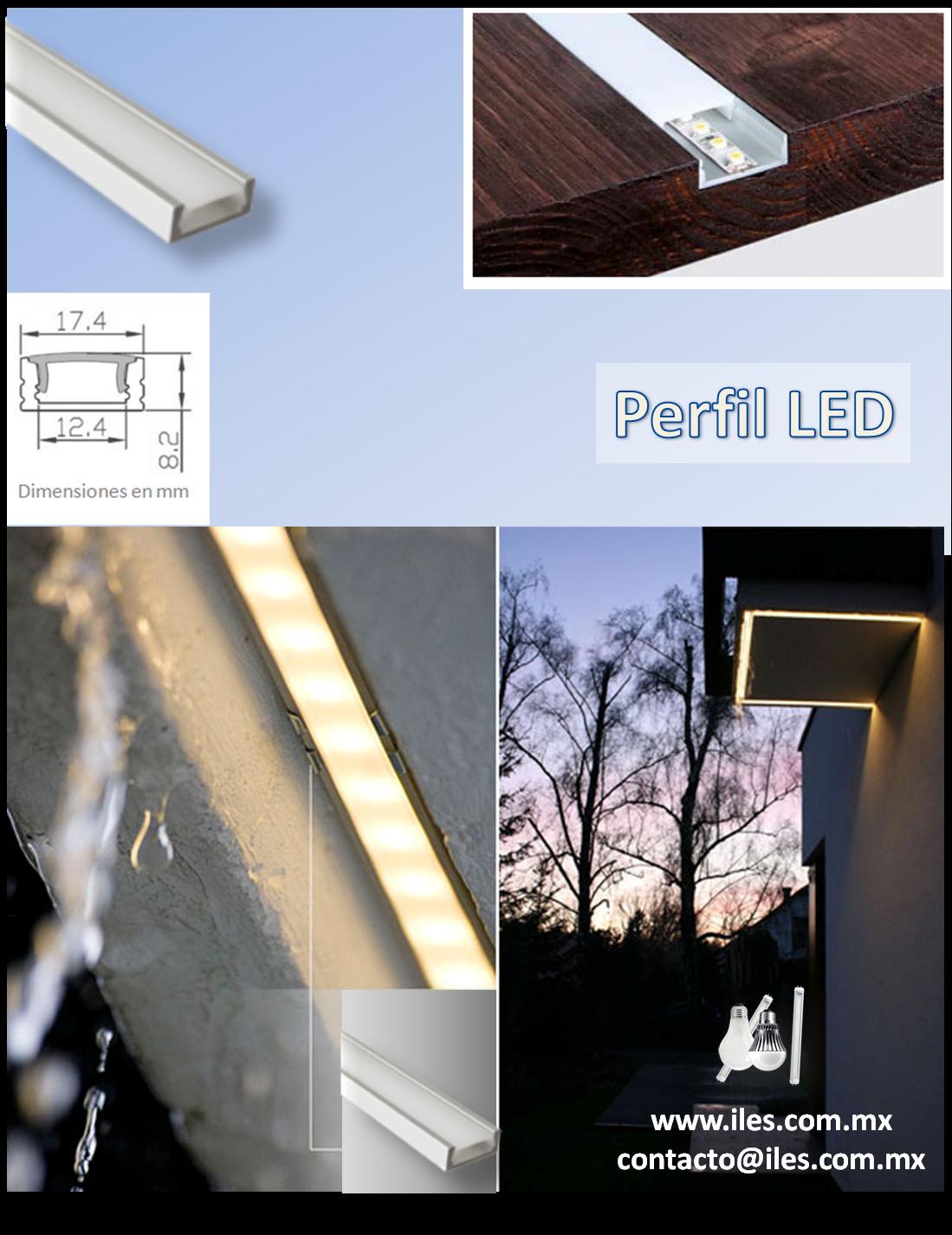 5 x 8 badezimmer design-ideen perfil led perfil de aluminio anodizado plata  x  mm