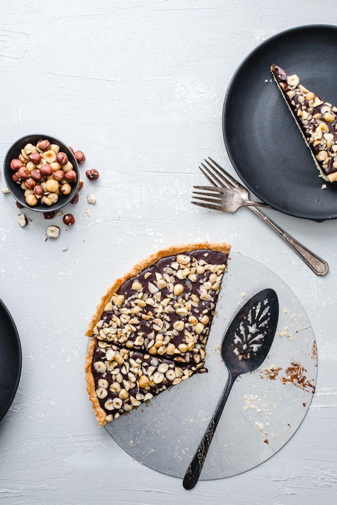 Chocolate Hazelnut Tart | The Adventures of Bob & Shan