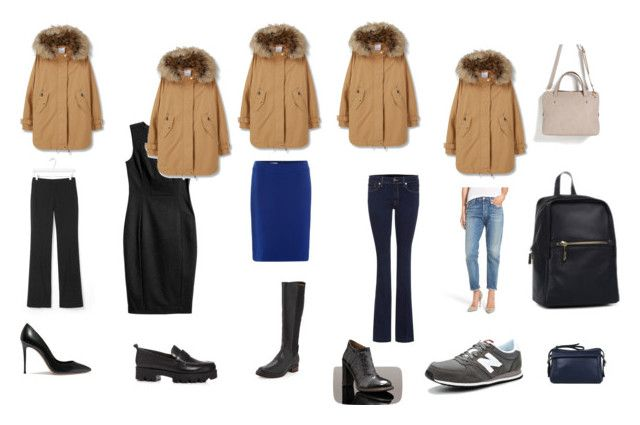 Парка_сочетания by mirra81 on Polyvore featuring мода, MANGO, Banana Republic, Citizens of Humanity, 7 For All Mankind, Tahari by Arthur S. Levine, Alberto Fermani, UGG Australia, Ash and Casadei