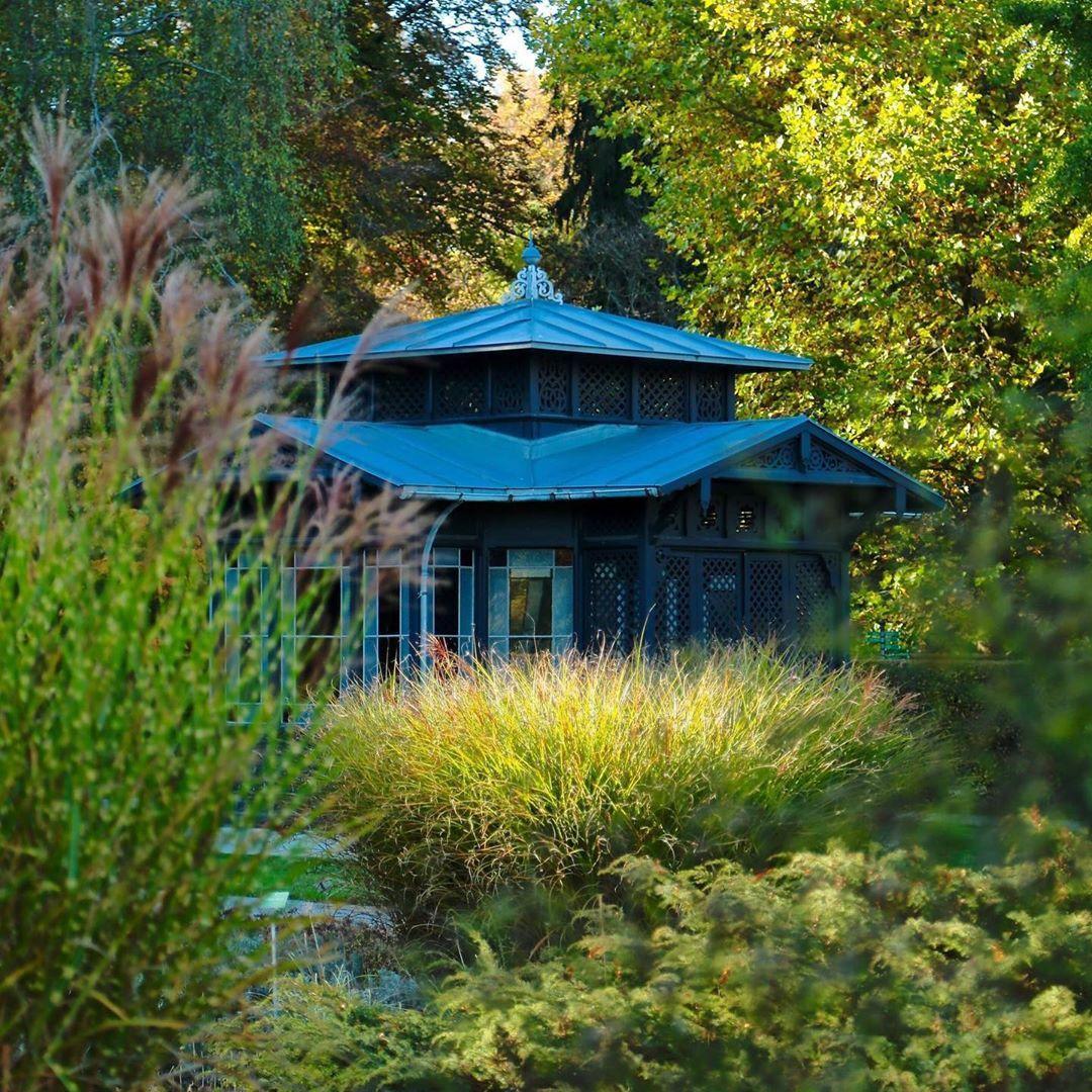 Pavillon Im Botanischen Garten Augsburg Augsburg Botanischergartenaugsburg Pavillon Nature Naturephotography Garten Gazebo Outdoor Outdoor Structures