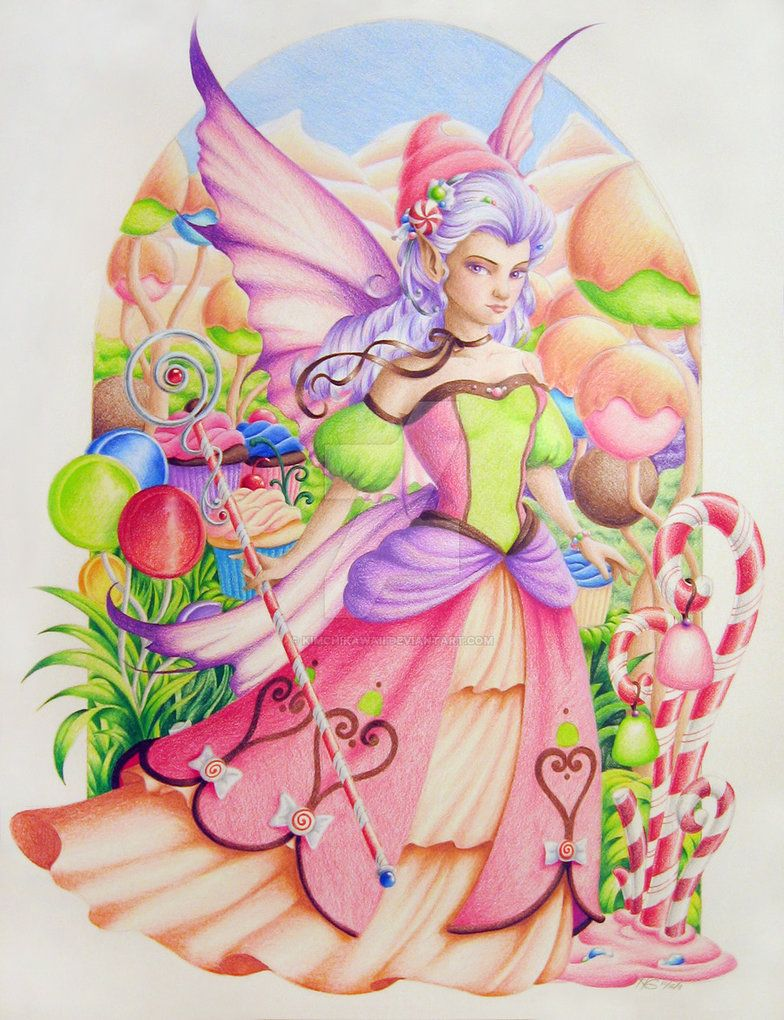 Sugar Plum Fairy By Kimchikawaii Deviantart Com On Deviantart Sugar Plum Fairy Fairy Art