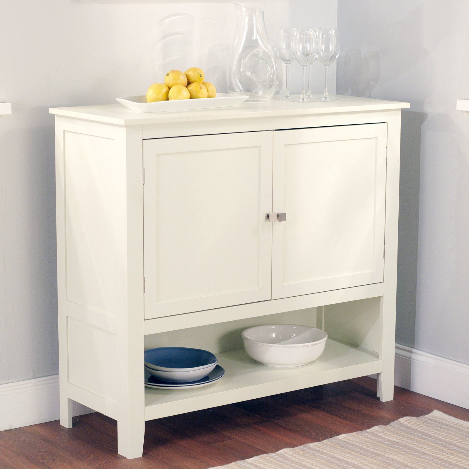 montego buffet | kitchen buffet cabinet, white buffet