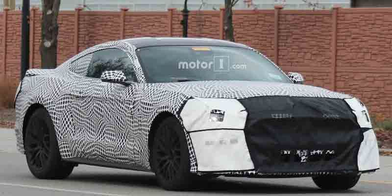 2018 Mustang Gt Spied Showing Off Active Quad Exhaust Mustang Gt