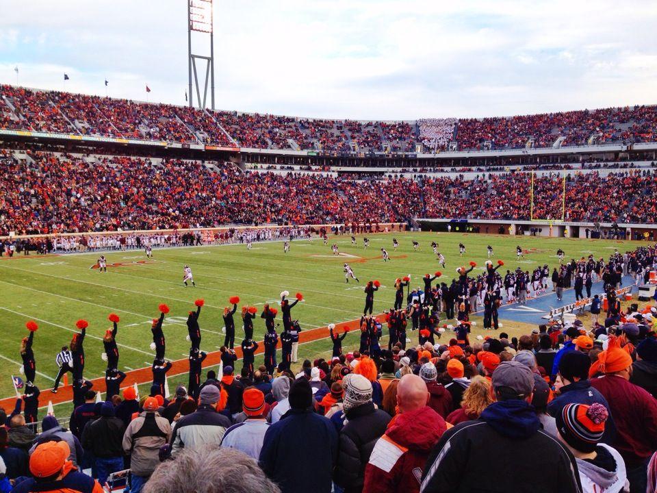 Scott Stadium Charlottesville, VA Stadium, Virginia