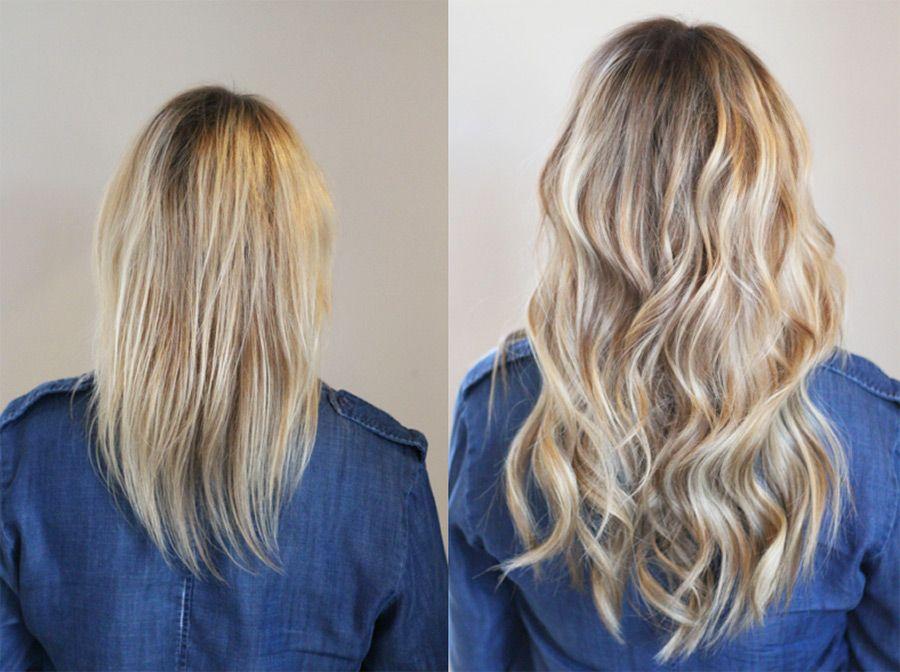 Danielle K White Natural Beaded Rows Hair Extensions Hair