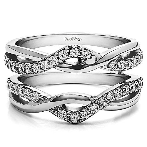 Sterling Silver Gents Wedding Band Charles Colvard Moissanite Size 3 to 15 in 1//4 Size Intervals 0.23Ct