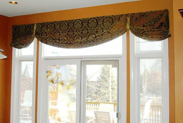 Valance Ideas For Wide Windows Window