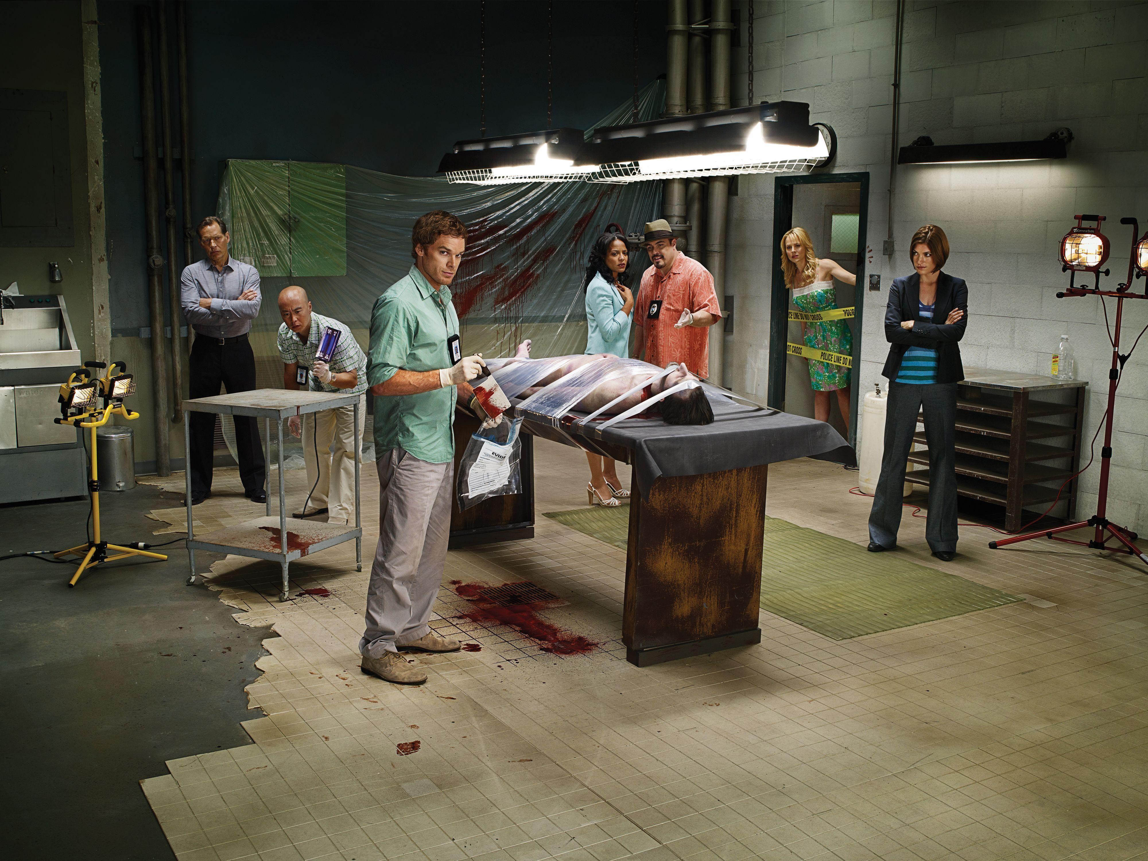 Dexter Season 3 Cast Promo Dexter Wallpaper Dexter Morgan Dexter Tv Series