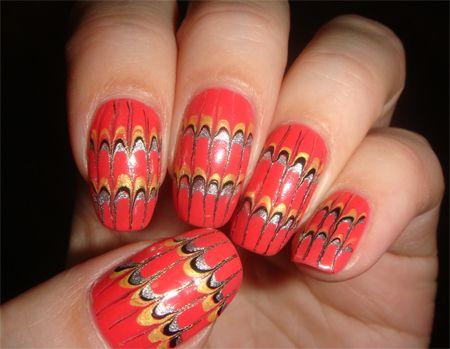 рисунки на ногтях узоры лепестки