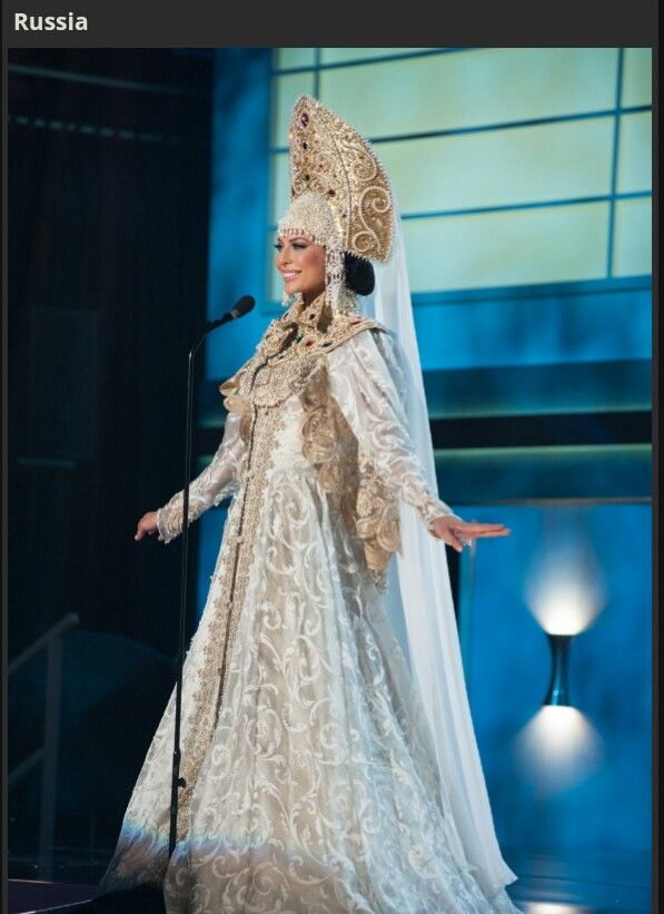 Russia Miss Universe 2014 National Costume