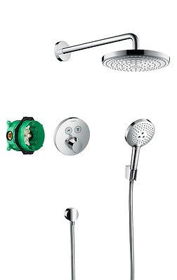 Hansgrohe design raindance select s 2 way shower bundle