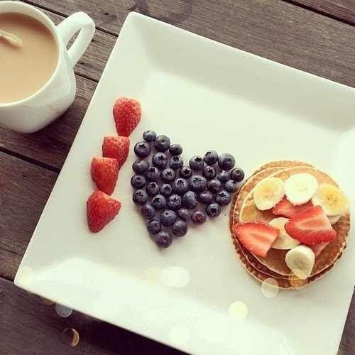 Lovely Breakfast  #wishfarms #sweetsummertime