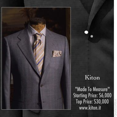 The World's Most Expensive Men's Suits | Expensive suits and Mens ...