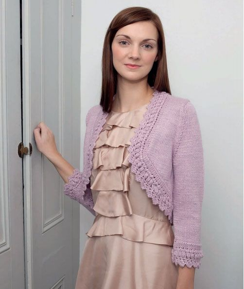 Free Knitted Bolero Pattern For Ladies Bolero Shrug Free Knitting