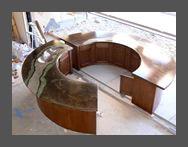 Concrete Countertops, Concrete Fireplaces - Absolute ConcreteWorks -